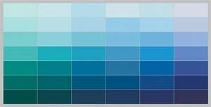Blue Paint Palette Found Benjamin Moore - Home Living Now