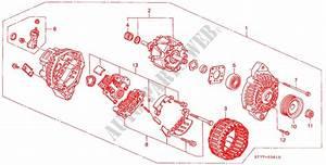 Alternator  Mitsubishi  For Honda Cars Integra Type R 3