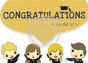 Say Congratulations Stock Vector - Image: 55697745