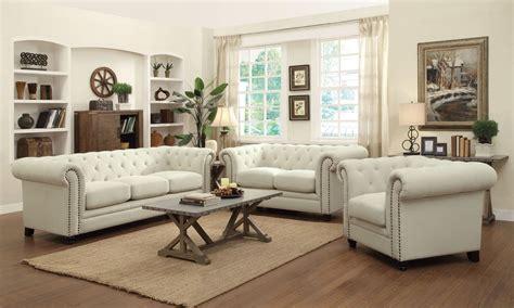 coaster furniture roy oatmeal fabric living