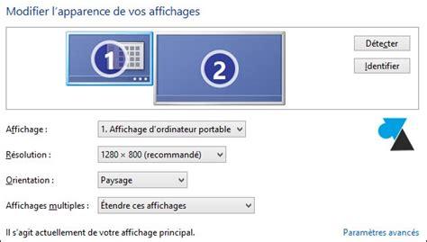 comment connecter un ordinateur de bureau en wifi windows 8 1 connecter un deuxi 232 me 233 cran ou tv sur