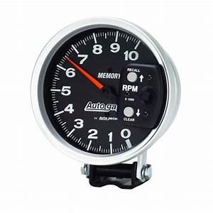 Auto Meter 233902 Autogauge Series Memory Tachometer  5