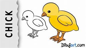 How to draw a baby Chick — Wie zeichnet man ein Küken ...