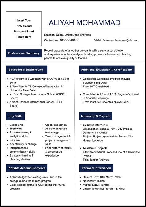 write  resume  fresher naukrigulfcom