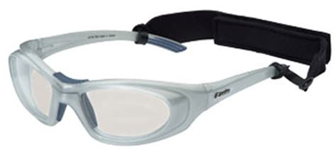 leader t zone protective eyewear silver