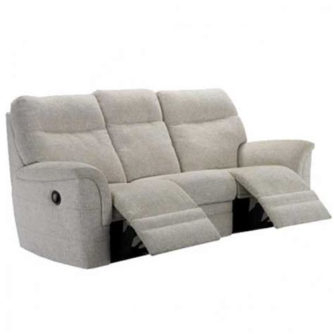 Recliner Settee by Knoll Hudson Power Recliner 3 Seater Sofa