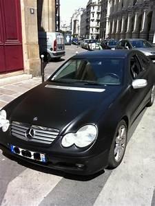 Mercedes Classe C Noir : troc echange mercedes classe c coup sport 200k noir mat sur france ~ Dallasstarsshop.com Idées de Décoration