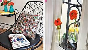 Bricolage Avec Objets De Récupération : faire de la deco avec de la recuperation florimont ~ Nature-et-papiers.com Idées de Décoration