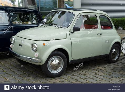 Small Fiat Car by Berlin May 11 Small Car Fiat 500 R 26 Oldtimer Tage