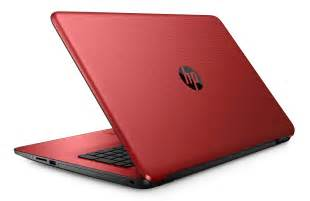 """HP 17-X001DS Intel Quad-Core, 8GB, HD LED, 17.3"""" Win 10 Laptop (Cardinal Red) 