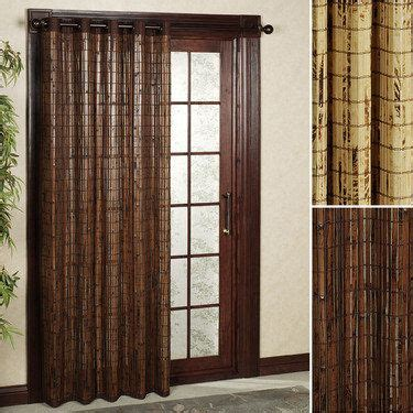 Grommet Curtains For Sliding Glass Doors by Bamboo Patio Door Grommet Panels Tropical Home