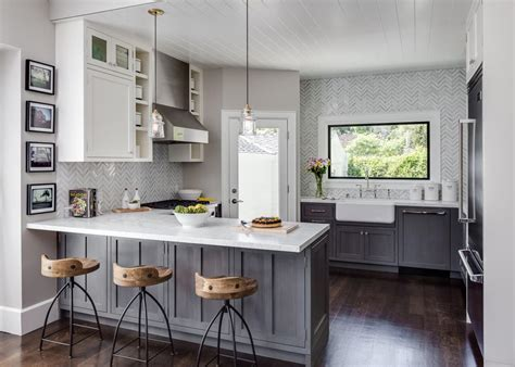 Transitional Kitchen With Industrialcountry Flair Hgtv