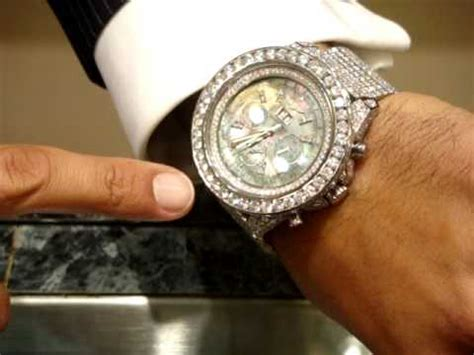 rick ross jewelry bentley breitling iced outjewelrympg