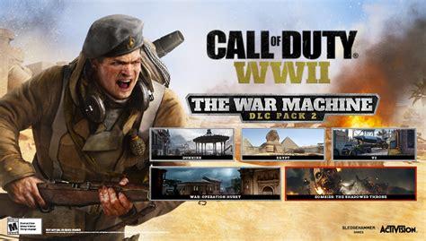 call  duty wws  dlc  titled war machine nrdabl