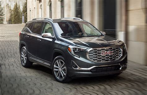 2019 Gmc Features by 2019 Gmc Terrain Denali Specs And Features