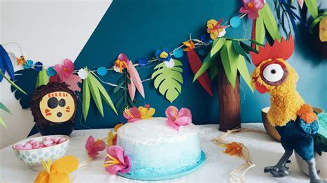moana party anniversaire vaiana decoration vaiana