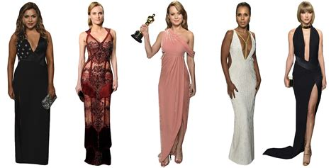 Oscars After Party Dresses Vanity Fair