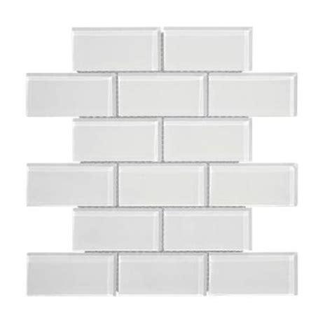 jeffrey court dry ice super white gloss 9 3 4 in x 11 5 8