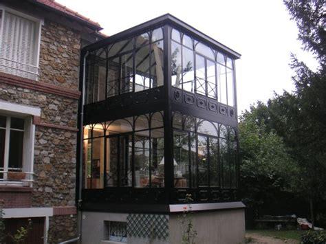 veranda chambre conception et création véranda à 2 étages à l 39 ancienne en