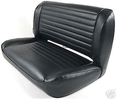 Jeep Seat Upholstery Kits by Jeep Cj Yj Rear Fixed Bench Upholstery Kit 1976 1985 Ebay