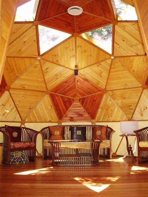 Dome Home Interior Design by Geodesic Dome Designs Design Architecture