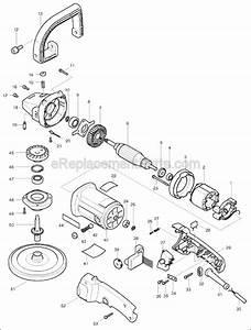 Makita 9227c Parts List And Diagram   Ereplacementparts Com