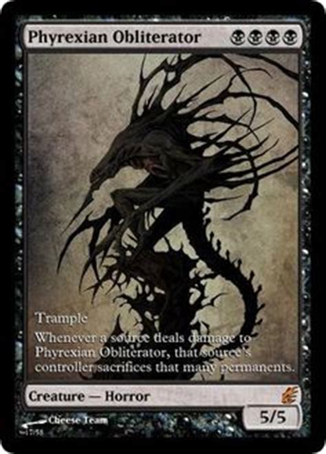 phyrexian obliterator deck ideas 1000 images about mtg on magic the gathering