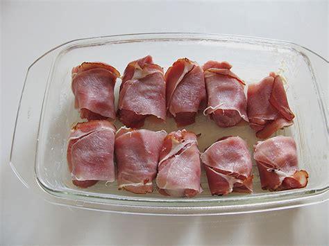 Schweinefilet Im Speckmantel Mit Sahnehaube (rezept Mit