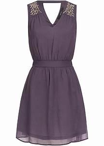 77 Online Shop De : vero moda damen mini kleid 2 lagig r ckenausschnitt perlen vorne nightshade lila 77onlineshop ~ Markanthonyermac.com Haus und Dekorationen