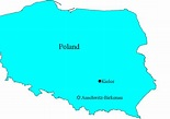 Herman Opatowski - November 2, 1981 - Map Showing Kielce ...