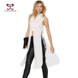 Front Lace Up Shirts for Women