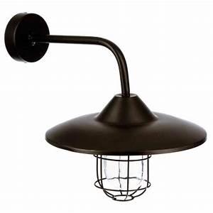 Applique Metal Noir : applique ext rieur m tal grik 33cm noir ~ Teatrodelosmanantiales.com Idées de Décoration