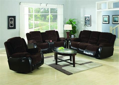 johanna casual chocolate corduroy living room set