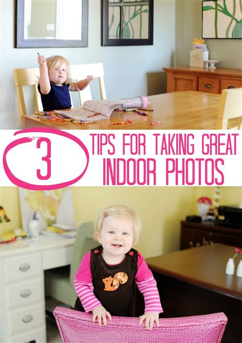 How To Take Awesome Indoor Photos Of Your Kids