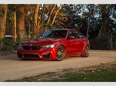 BMW M3 hotted up with ADV1 Wheels