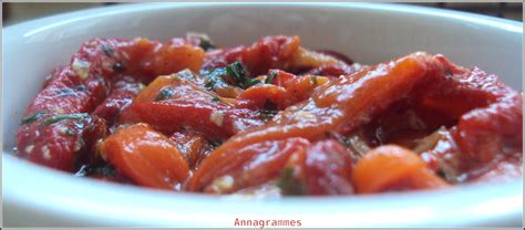 cuisine casher salade de poivrons marinés annagrammes cuisine