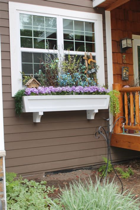 Window Planters by Remodelaholic How To Build A Window Box Planter In 5 Steps