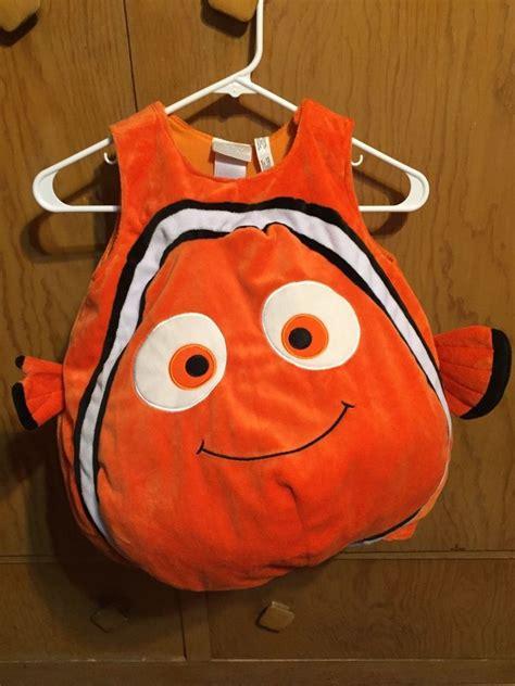 VGUC Disney Store Finding Nemo 3D Plush Costume 3T No Hat ...