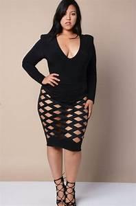 Best 25+ Plus size clubwear ideas on Pinterest | Big girl fashion Clubbing outfits plus size ...