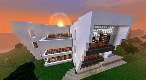 Großes, Modernes Haus Minecraft Project