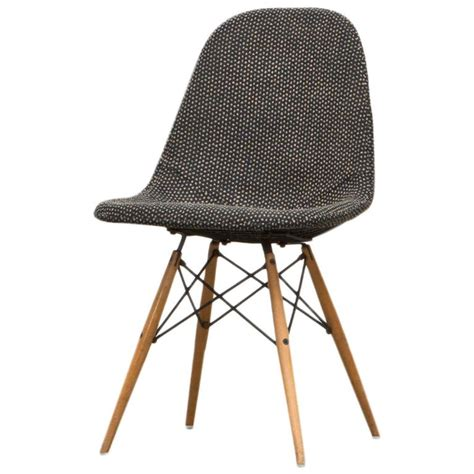 charles and eames chair with girard fabric