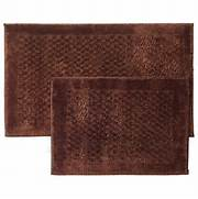 Bathroom Rugs Clearance by Mohawk Mercer 2 Piece Bath Rug Set Chocolate Bath Rugs Mats For Th