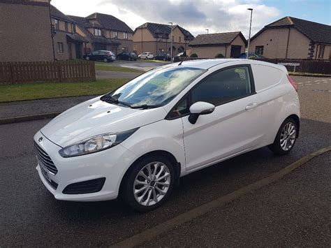 14 Plate Ford Fiesta Car Derived Van