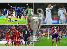 Champions League semifinals Bayern Munich, Real Madrid
