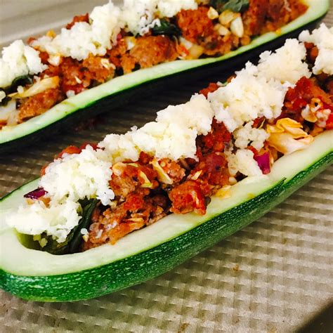 Recipes For Zucchini Boat by Zucchini Boats Ground Beef