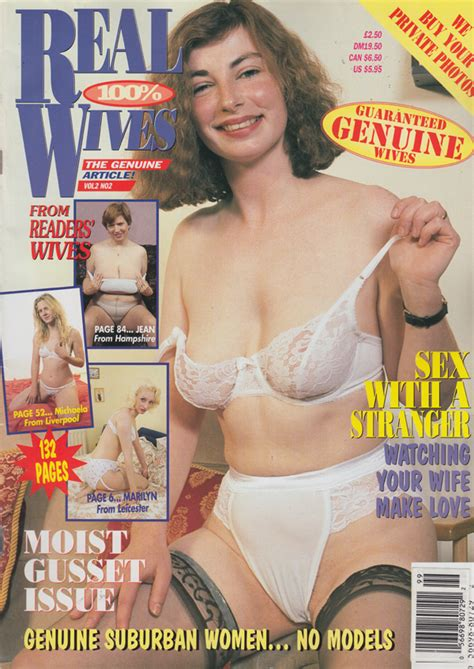 Real Wives Vol Magazine Back Issue Real Wives Wonderclub