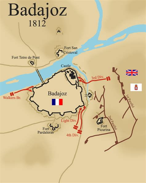 siege of the siege of badajoz 1812 war and security