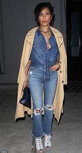 Jada Pinkett Smith looks stylish in double denim in LA ...