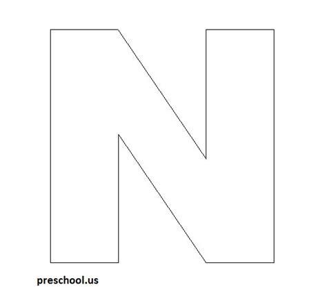 Letter N Crafts  Preschool And Kindergarten