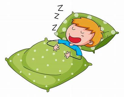 Clipart Nap Schlafen Boy Sleeping Dormir Bed